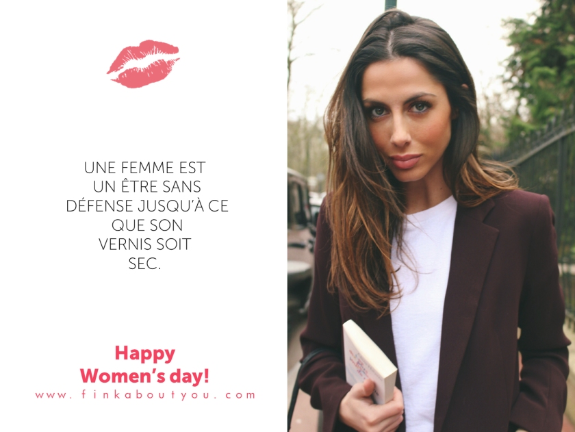 finkaboutyou jenny finkelsein journée de la femme women sday